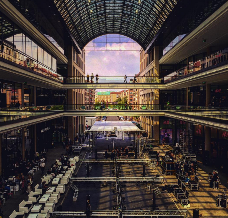 Image taken from Mall of Berlin's Instagram