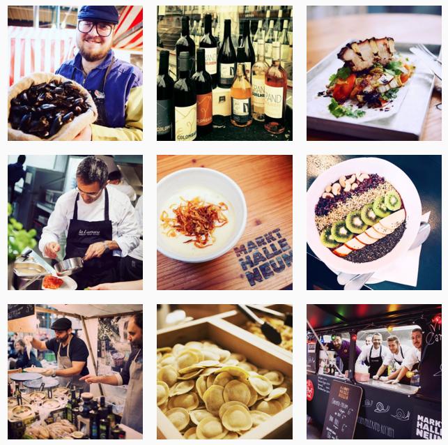 Images from Markthalle Neun's Instagram @markthalleneun
