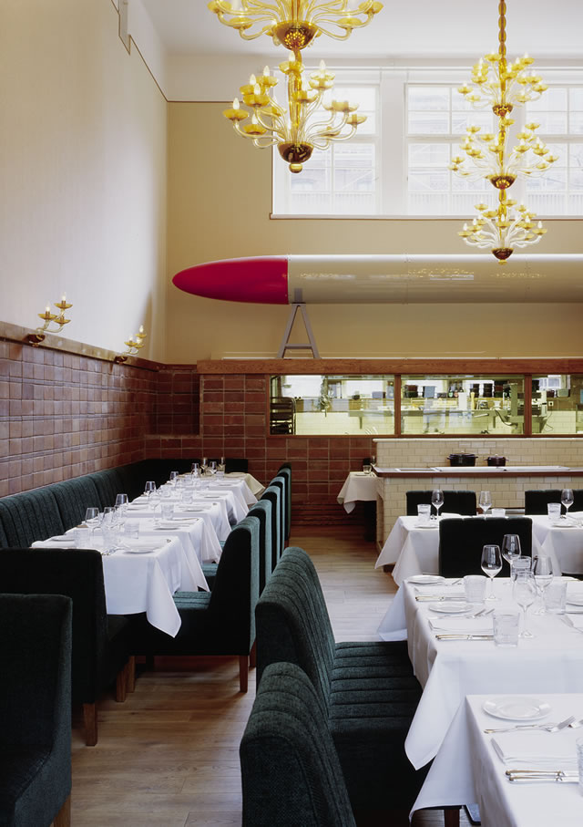 The main dining room (image from Pauly Saal's website)