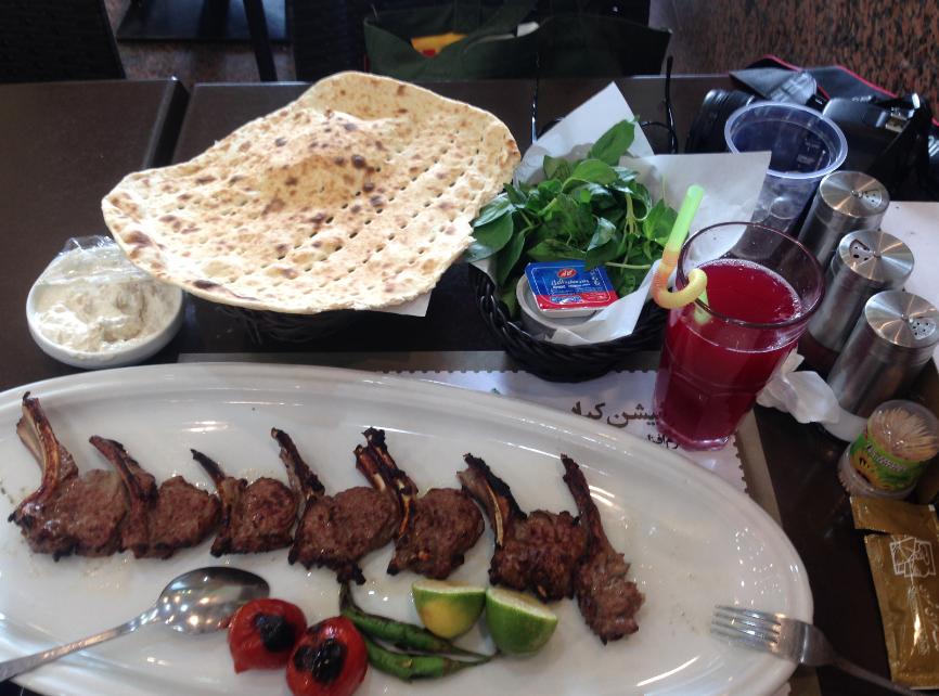 Shemroon Kebab Tehran TravelVince