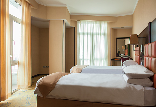 Deluxe room. Image from hotel's website