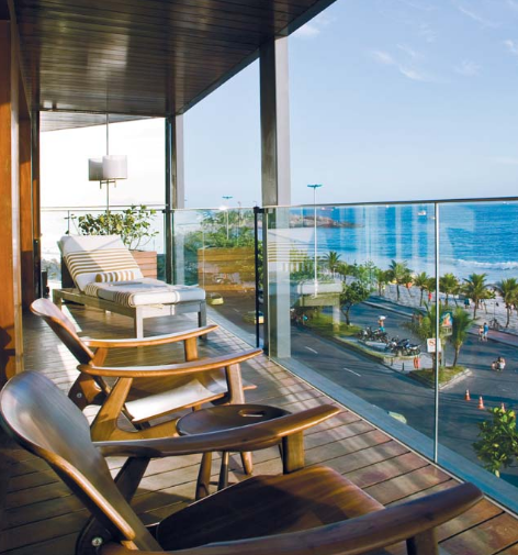 Enjoy your view – image from Fasano's website