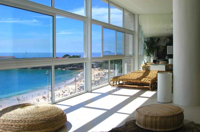 Brazilian beach house apartment rentals Rio TravelVince