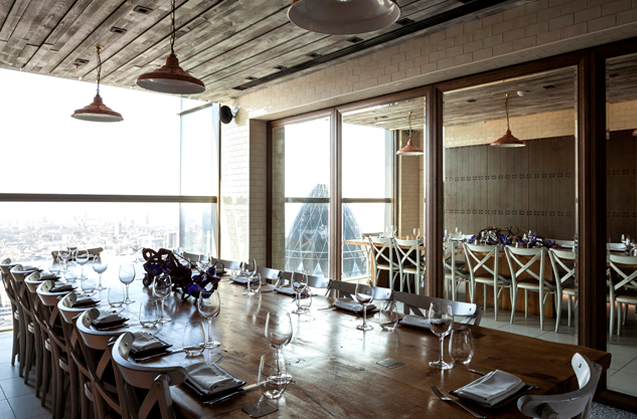 Image from Duck & Waffle's website