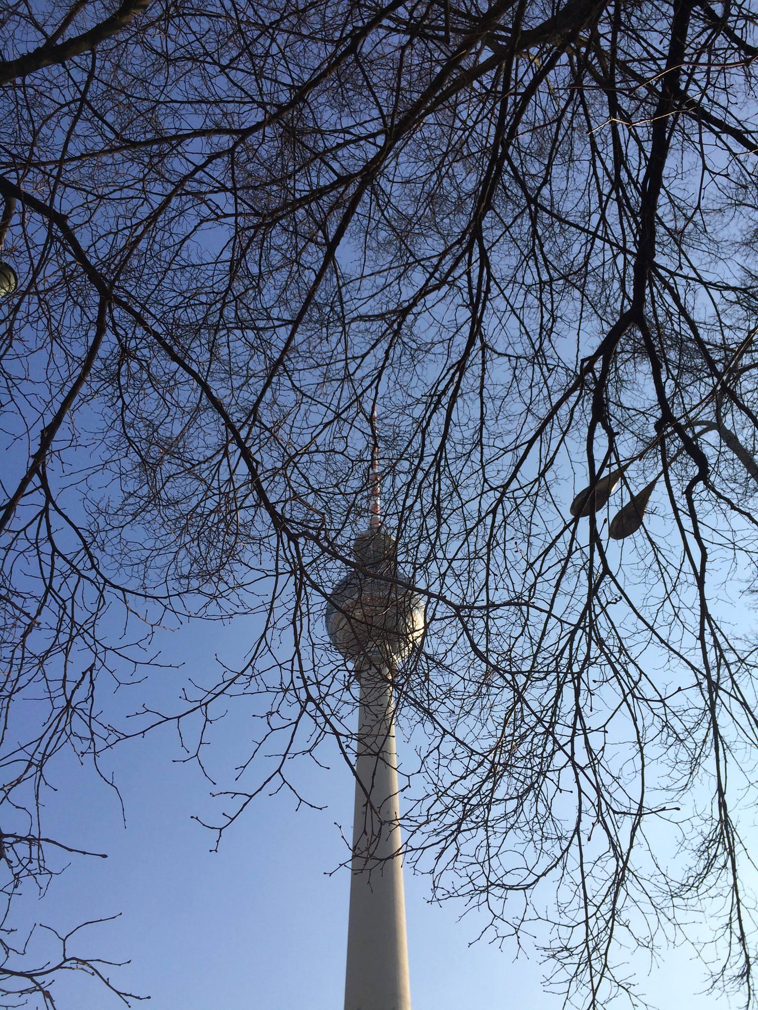 Winter in Alexanderplatz by Fernanda Dias