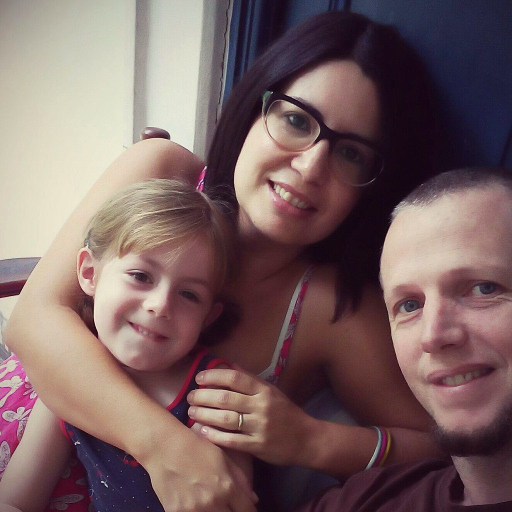 Vanessa, David and Chole in Rio de Janeiro