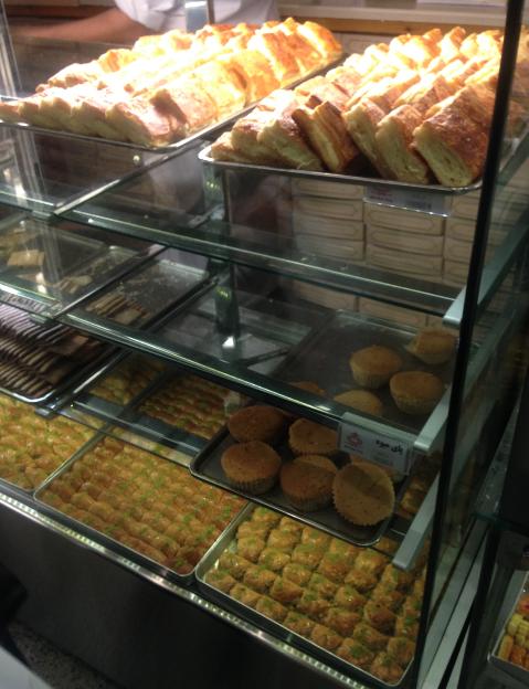 Sugar rush at Danish Pastry
