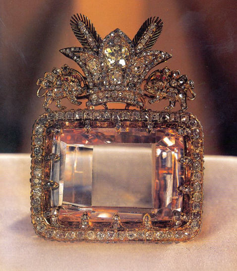 Daria-e Noor, or Sea of Light, the world's biggest pink diamond