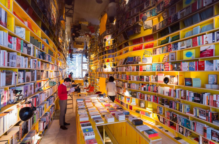 Image by Iwan Baan for Selgas Cano architecture and Libreria