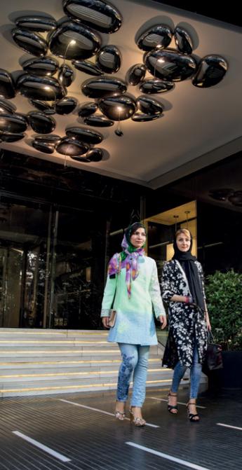 Mall's Entrance - image from Sam Center Magazine