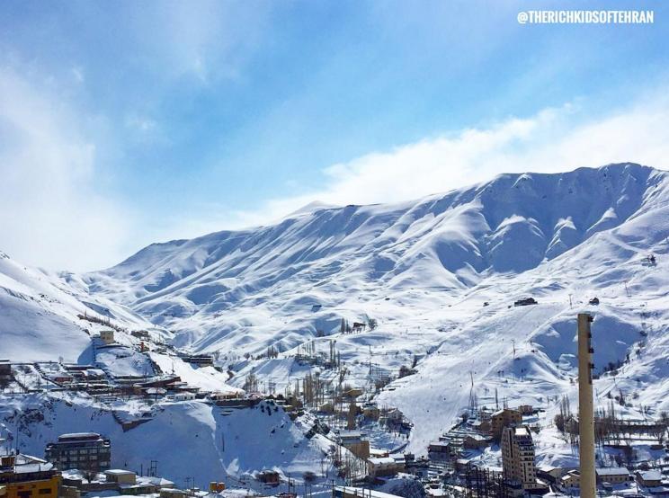 Shemshak Ski Resort by @therichkidsoftehran