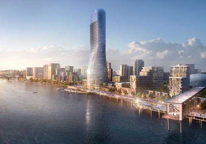 Image from Belgrade Waterfront's website