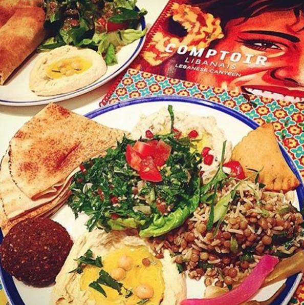 Image from Comptoir Libanais on Instagram