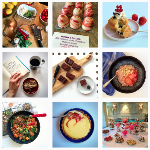 Snapshots of Felicity Spector's colorful and sweet Instagram feed
