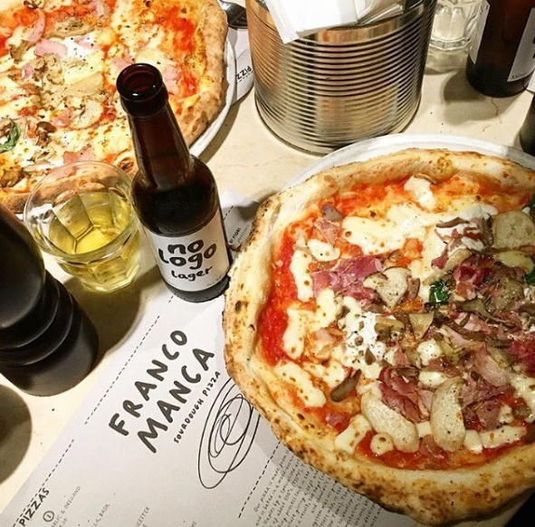 Image from Franco Manca on Instagram