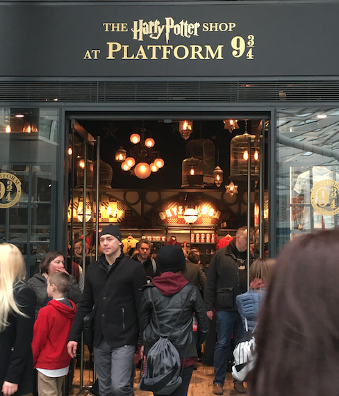 Image by TravelVince - Harry Potter store at King's Cross