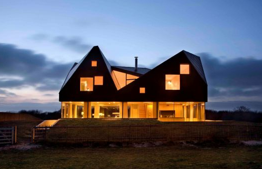The Dune House – Image from Living Architecture's website