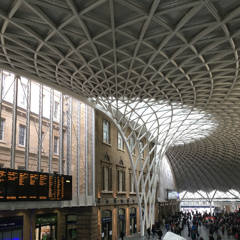 Image by Travelvince - King's Cross new roof is already a tourist attraction