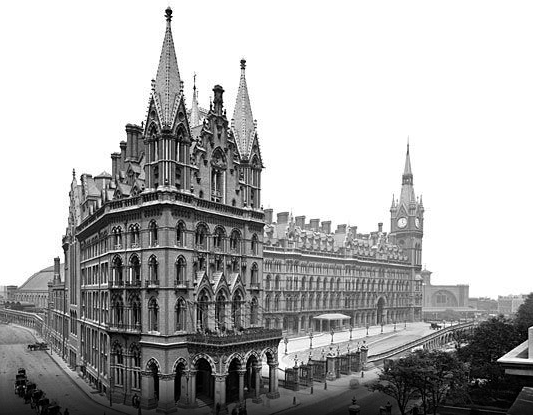 Image from Renaissance St Pancras Hotel