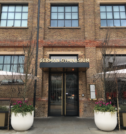 Image by TravelVince - German Gymnasium's entrance