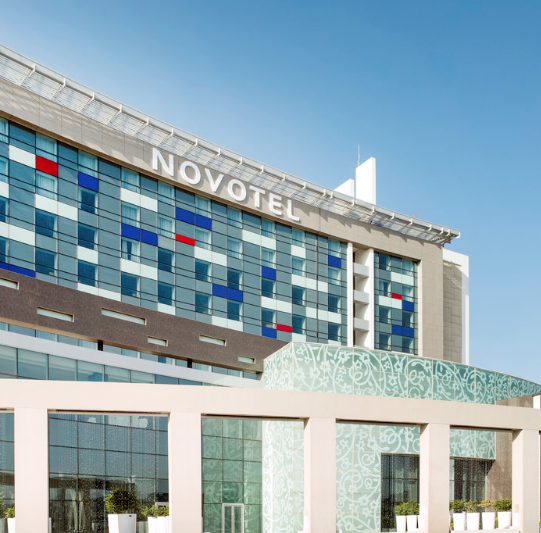 Image from Novotel's website, an Accor Hotel