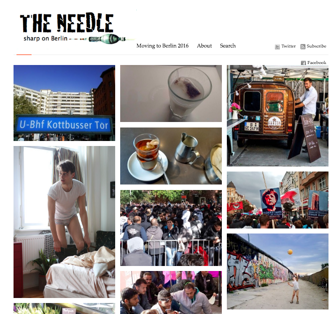 Home page of The Needle