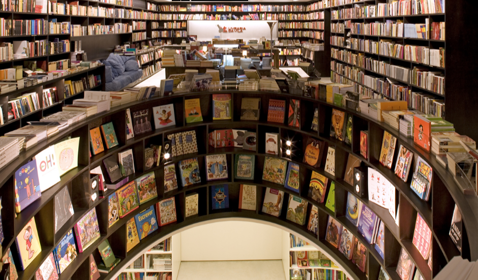Image from Isay Weinfeld.com - the bookshop's architect