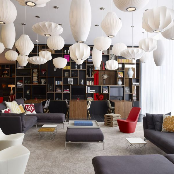 Image from CitizenM Bankside's website