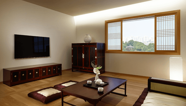 Image from Shilla's website - Korean style room