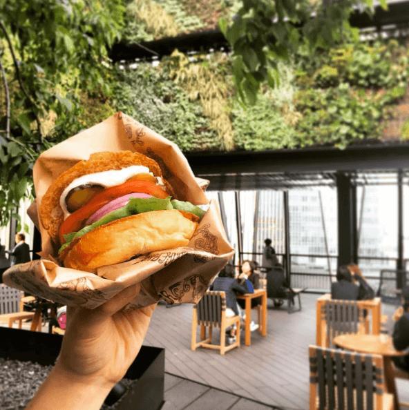 Image from Bareburger Japan on Instagram