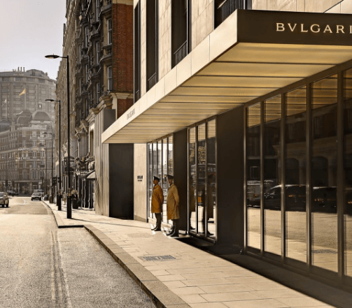 Image from Bulgari Hotel London on Instagram