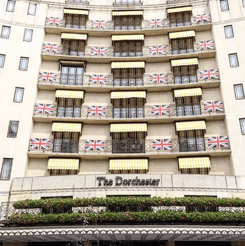 Image from The Dorchester on Instagram