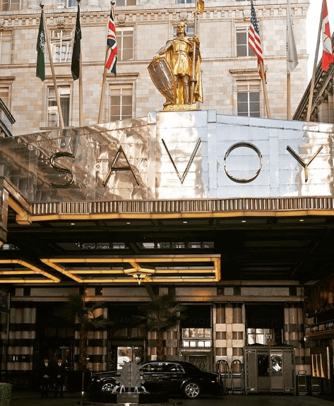 Image from Fairmont The Savoy on Instagram
