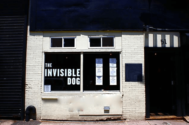 Image from Invisible Dog Art Center in Instagram