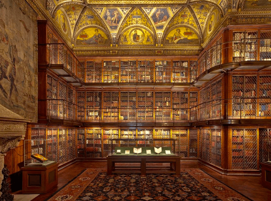 Image from Morgan Library on Instagram