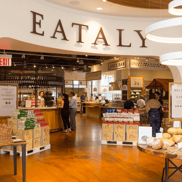 Image from Eataly on Instagram