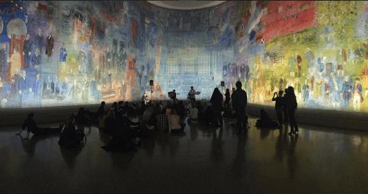 Image by Musée d'Art Moderne de la Ville de Paris on Instagram @museedartmodernedeparis